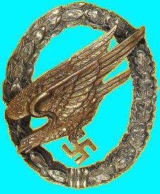 Luftwaffe Para Badge